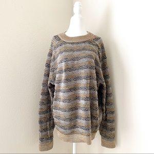 peruvian connection - pima cotton vintage sweater